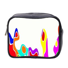 Simple Abstract With Copyspace Mini Toiletries Bag 2 Side by Simbadda