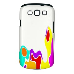 Simple Abstract With Copyspace Samsung Galaxy S Iii Classic Hardshell Case (pc+silicone) by Simbadda