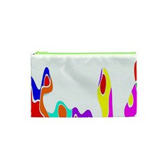 Simple Abstract With Copyspace Cosmetic Bag (xs) by Simbadda