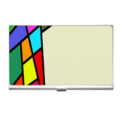 Digitally Created Abstract Page Border With Copyspace Business Card Holders by Simbadda