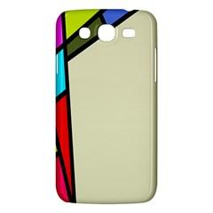 Digitally Created Abstract Page Border With Copyspace Samsung Galaxy Mega 5 8 I9152 Hardshell Case  by Simbadda