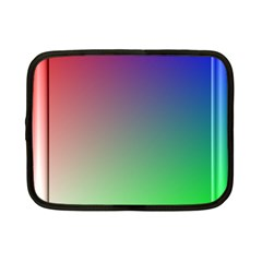 3d Rgb Glass Frame Netbook Case (small)  by Simbadda