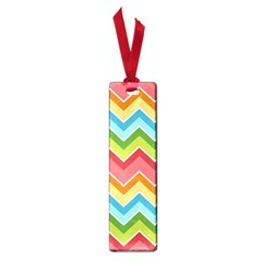 Colorful Background Of Chevrons Zigzag Pattern Small Book Marks by Simbadda