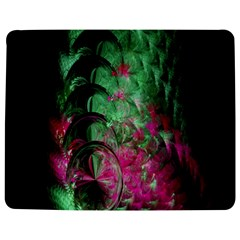 Pink And Green Shapes Make A Pretty Fractal Image Jigsaw Puzzle Photo Stand (rectangular) by Simbadda