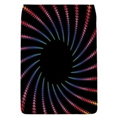 Fractal Black Hole Computer Digital Graphic Flap Covers (s)  by Simbadda