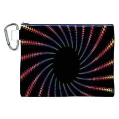 Fractal Black Hole Computer Digital Graphic Canvas Cosmetic Bag (xxl) by Simbadda