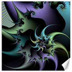 Fractal Image With Sharp Wheels Canvas 16  x 16   by Simbadda