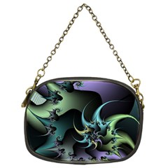 Fractal Image With Sharp Wheels Chain Purses (two Sides)  by Simbadda