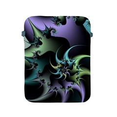 Fractal Image With Sharp Wheels Apple Ipad 2/3/4 Protective Soft Cases by Simbadda