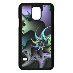 Fractal Image With Sharp Wheels Samsung Galaxy S5 Case (black) by Simbadda