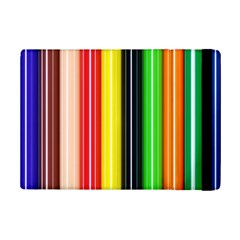 Stripes Colorful Striped Background Wallpaper Pattern Ipad Mini 2 Flip Cases by Simbadda