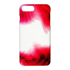 Abstract Pink Page Border Apple iPhone 7 Plus Hardshell Case by Simbadda