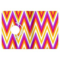 Colorful Chevrons Zigzag Pattern Seamless Kindle Fire Hdx Flip 360 Case by Simbadda
