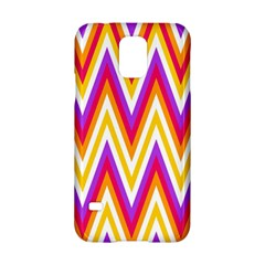 Colorful Chevrons Zigzag Pattern Seamless Samsung Galaxy S5 Hardshell Case  by Simbadda