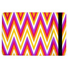 Colorful Chevrons Zigzag Pattern Seamless Ipad Air Flip by Simbadda