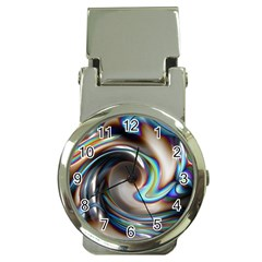 Twirl Liquid Crystal Money Clip Watches by Simbadda
