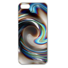 Twirl Liquid Crystal Apple Seamless Iphone 5 Case (clear) by Simbadda