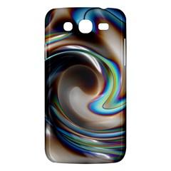Twirl Liquid Crystal Samsung Galaxy Mega 5 8 I9152 Hardshell Case  by Simbadda