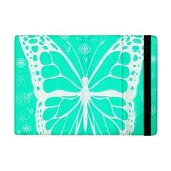 Butterfly Cut Out Flowers Ipad Mini 2 Flip Cases by Simbadda
