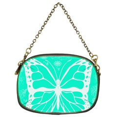 Butterfly Cut Out Flowers Chain Purses (one Side)  by Simbadda