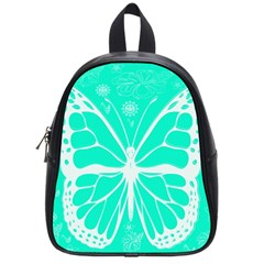 Butterfly Cut Out Flowers School Bags (small)  by Simbadda