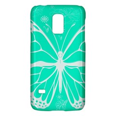 Butterfly Cut Out Flowers Galaxy S5 Mini by Simbadda