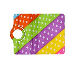Colorful Easter Ribbon Background Kindle Fire Hd (2013) Flip 360 Case by Simbadda