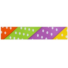Colorful Easter Ribbon Background Flano Scarf (large) by Simbadda