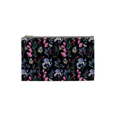 Wildflowers I Cosmetic Bag (small)  by tarastyle