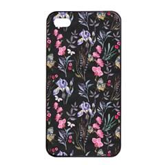 Wildflowers I Apple Iphone 4/4s Seamless Case (black) by tarastyle