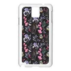 Wildflowers I Samsung Galaxy Note 3 N9005 Case (white) by tarastyle