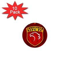 Shanghai Sipg F C  1  Mini Buttons (10 Pack)  by Valentinaart