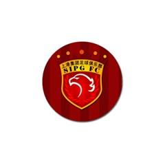 Shanghai Sipg F C  Golf Ball Marker by Valentinaart