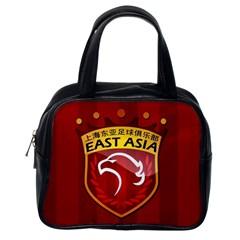 Shanghai Sipg F C  Classic Handbags (one Side) by Valentinaart