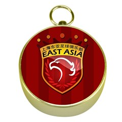 Shanghai Sipg F C  Gold Compasses by Valentinaart