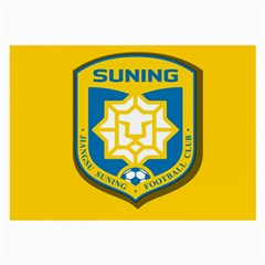 Jiangsu Suning F.C. Large Glasses Cloth by Valentinaart