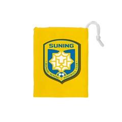 Jiangsu Suning F C  Drawstring Pouches (small)  by Valentinaart