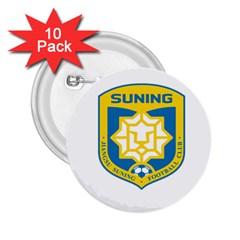 Jiangsu Suning F C  2 25  Buttons (10 Pack)  by Valentinaart