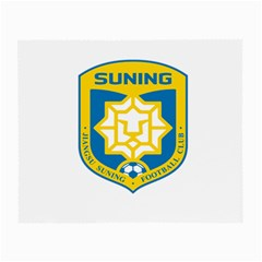 Jiangsu Suning F C  Small Glasses Cloth (2 Side) by Valentinaart