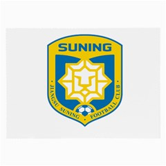 Jiangsu Suning F C  Large Glasses Cloth by Valentinaart