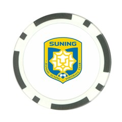 Jiangsu Suning F C  Poker Chip Card Guard (10 Pack) by Valentinaart