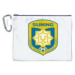 Jiangsu Suning F C  Canvas Cosmetic Bag (xxl) by Valentinaart