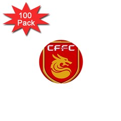 Hebei China Fortune F C  1  Mini Buttons (100 Pack)  by Valentinaart