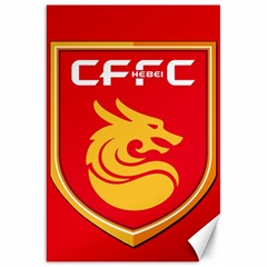Hebei China Fortune F C  Canvas 20  X 30   by Valentinaart