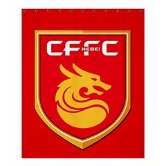 Hebei China Fortune F C  Shower Curtain 60  X 72  (medium)  by Valentinaart