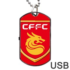 Hebei China Fortune F C  Dog Tag Usb Flash (two Sides) by Valentinaart