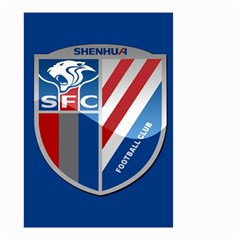 Shanghai Greenland Shenhua F C  Small Garden Flag (two Sides) by Valentinaart