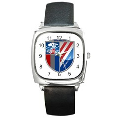 Shanghai Greenland Shenhua F C  Square Metal Watch by Valentinaart