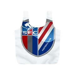 Shanghai Greenland Shenhua F C  Full Print Recycle Bags (s)  by Valentinaart