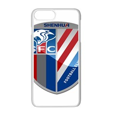 Shanghai Greenland Shenhua F C  Apple Iphone 7 Plus White Seamless Case by Valentinaart